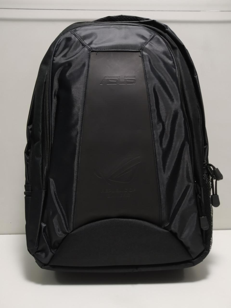 """Удобный рюкзак с защитой для ноутбука. Asus ROG на 2 отдела. Свободно помещается ноутбук до 17,3"""""""