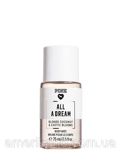Мини-спрей для тела PINK All A Dream Victoria's Secret PINK