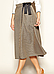Женская юбка на запах Caty Zaps серого цвета, фото 3