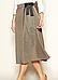 Женская юбка на запах Caty Zaps, кэмел, фото 2