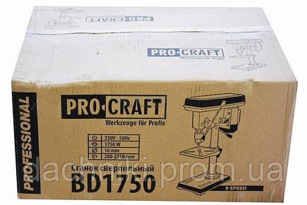 Свердлильний верстат Procraft BD1750, фото 2