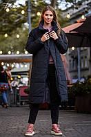 Женское теплое пальто  ДГс539, фото 1