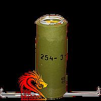 Фальшфейер желтого огня НСП, цвет огня: желтый