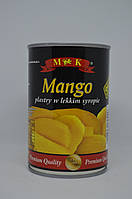 Манго в сиропе MK 425 г
