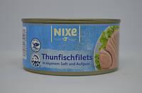 Тунец в собственном соку Nixe , 195 г Германия, фото 1