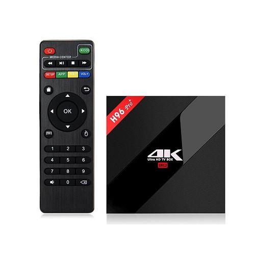 H96 PRO+ 3/32 | 8 ядер, S912 | Smart tv box |  Смарт ТВ приставка (+ налаштування)