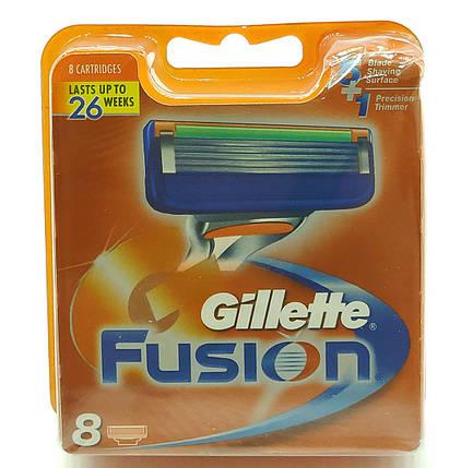 Сменные картриджы для станка Gillette Fusion 8шт (KGF8), фото 2