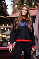 Женский модный батник с капюшоном  ДГр15211