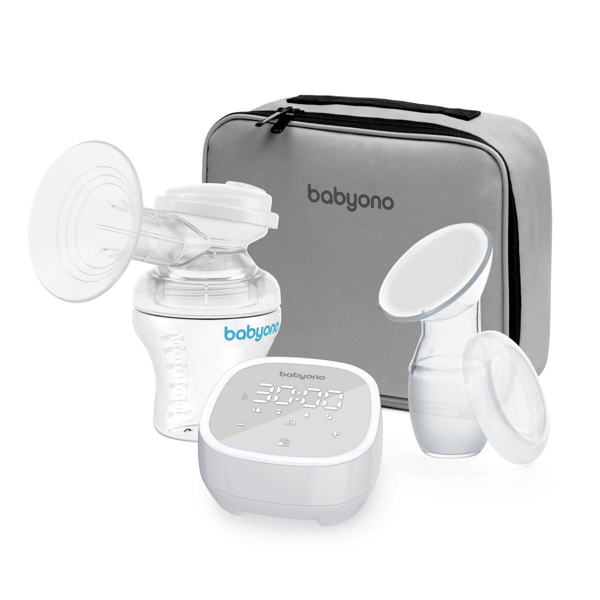 Молокоотсос электрический BabyOno INDIVIDUAL с 5 режимами