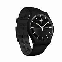 Чоловічий годинник Swatch suob720 Black - 189174