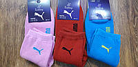 """Жіночі махрові шкарпетки в стилі""""Puma А"""",Туреччина 36-41, фото 1"""
