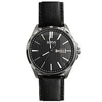 Чоловічий годинник Hugo Boss HB301 Silver Black - 189166