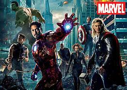 Плакат Marvel Heroes