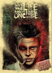 Плакат Fight Club