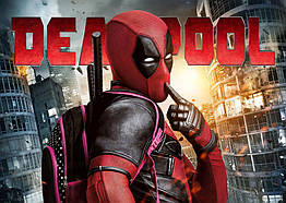 Плакат Deadpool