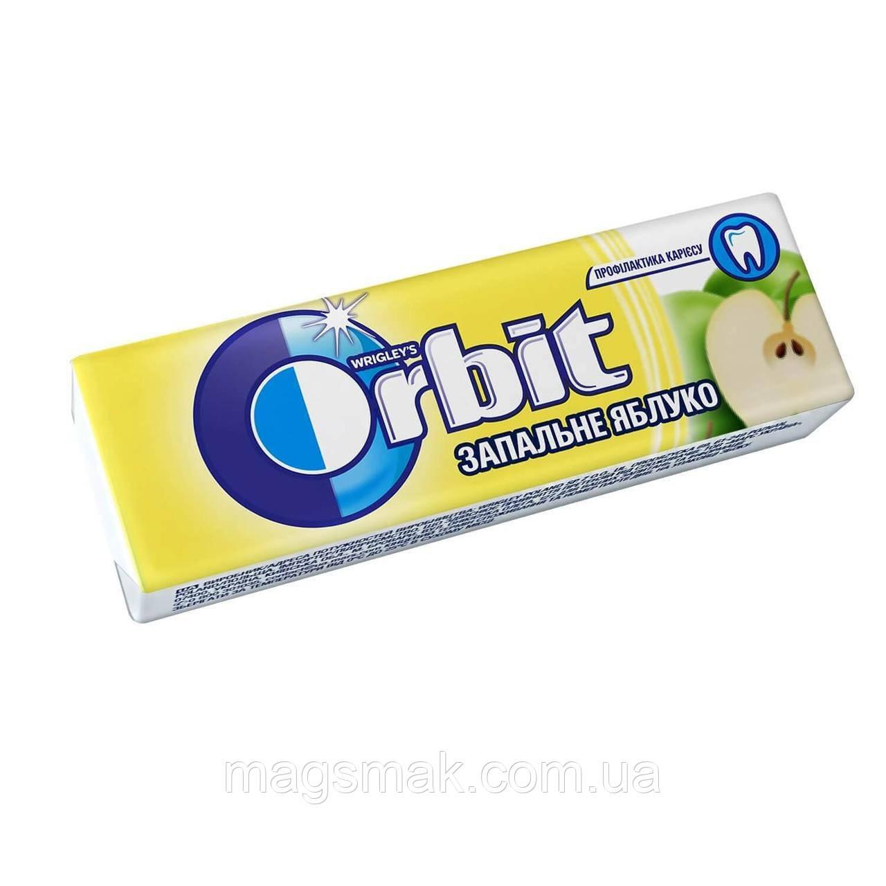 Жевательная резинка Orbit Зажигательное яблоко без сахара 14г