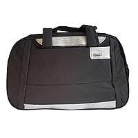 Спортивная сумка с плечевым ремнем черная, фото 1