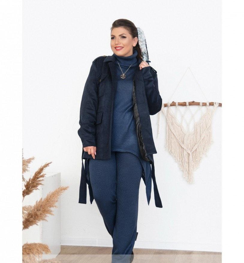 Куртка женская Minova 705Б-синий