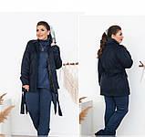 Куртка женская Minova 705Б-синий, фото 3