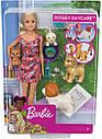 Кукла Барби Детский садик щенков уход за щенками Barbie Doggy Daycare Doll & Pets, фото 10