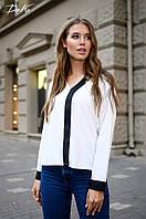 Женская модная блузка  ДГд41324 (норма / бат)