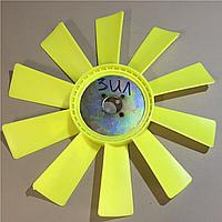 Крыльчатка вентилятора ЗИЛ пластик 10 лоп. 130-1308010
