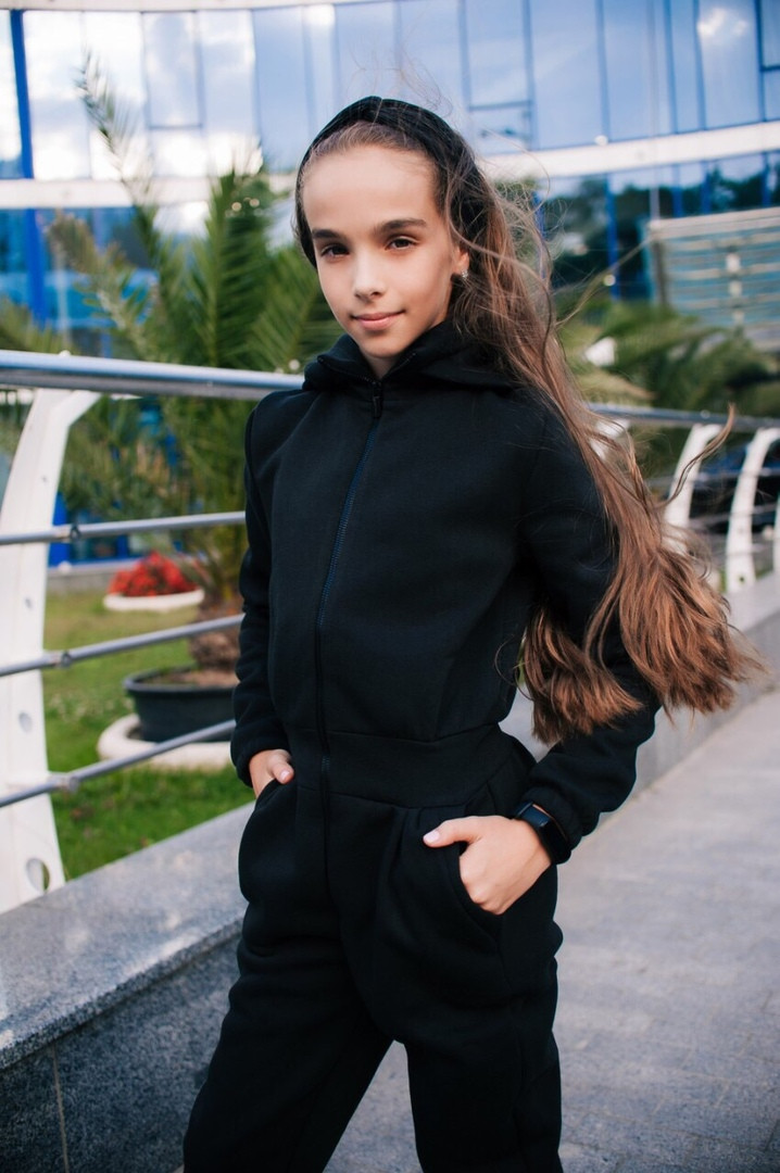 Комбинезон LiLove 436 140 черный
