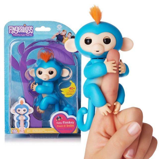 Fingerling Finger Monkey Интерактивная игрушка ручная обезьянка на палец (copy)