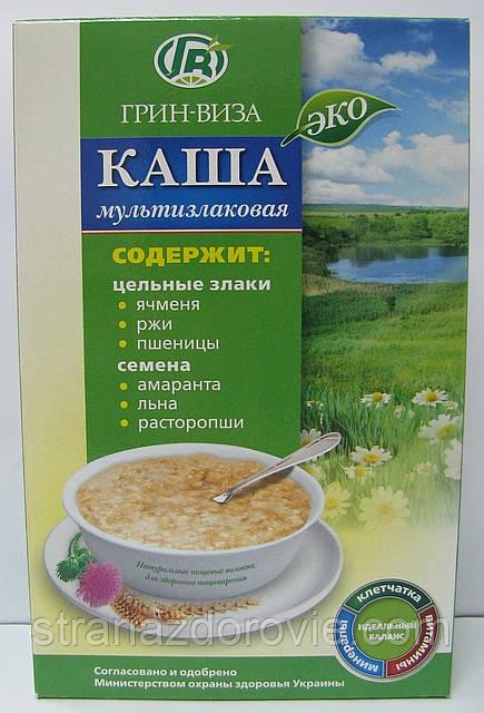 Эко-каша Мультизлаковая - 350 г - Грин-Виза