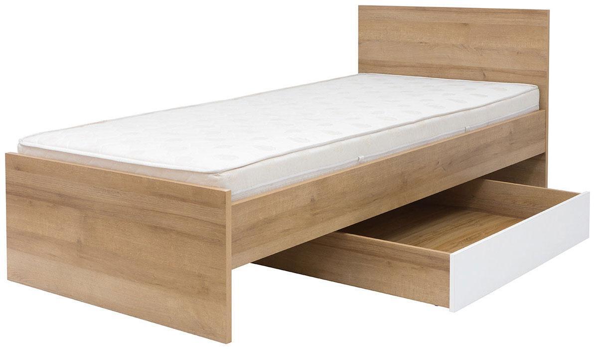 Ящик кровати Бонито SZU дуб ривьера/белый