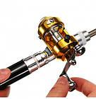 Мини Удочка Pocket Pen Fishing Rod карманная, фото 5