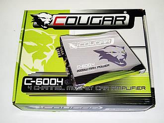Усилитель Cougar 600.4 2000Вт 4-х канальный