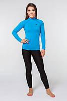 Термобелье спортивное женское Radical Acres S Черный с голубым (r0443)