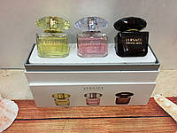 Женский подарочный набор Versace 3 в 1, фото 1