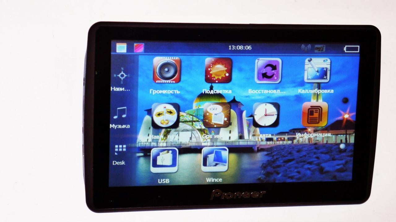 """7"""" GPS навигатор Pioneer 713 - 8Gb / 800MHz / 256Mb / IGO + Navitel + CityGuide"""