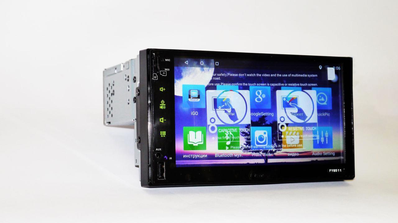 1din Pioneer FY6511 GPS+4 Ядра+16Gb ROM+1Gb RAM+Adnroid