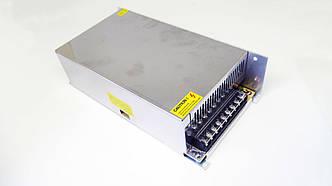 Блок питания адаптер 12V 50A 600W S-600-12 Металл