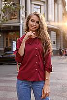 Стильная блуза на пуговицах, фото 3