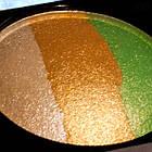 Тени для Век Laviar Запеченные Трехцветные Компактные Тон 06 Песочные Золотистые Салатовые, фото 4