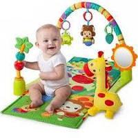 Іграшки для малюків:брязкальця,підвіски,пищалки,коврики розвиваючі/каталки