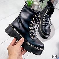 Ботинки женски черные , женская обувь