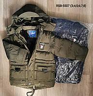 Куртки зимние для мальчиков Nature 3-8 лет