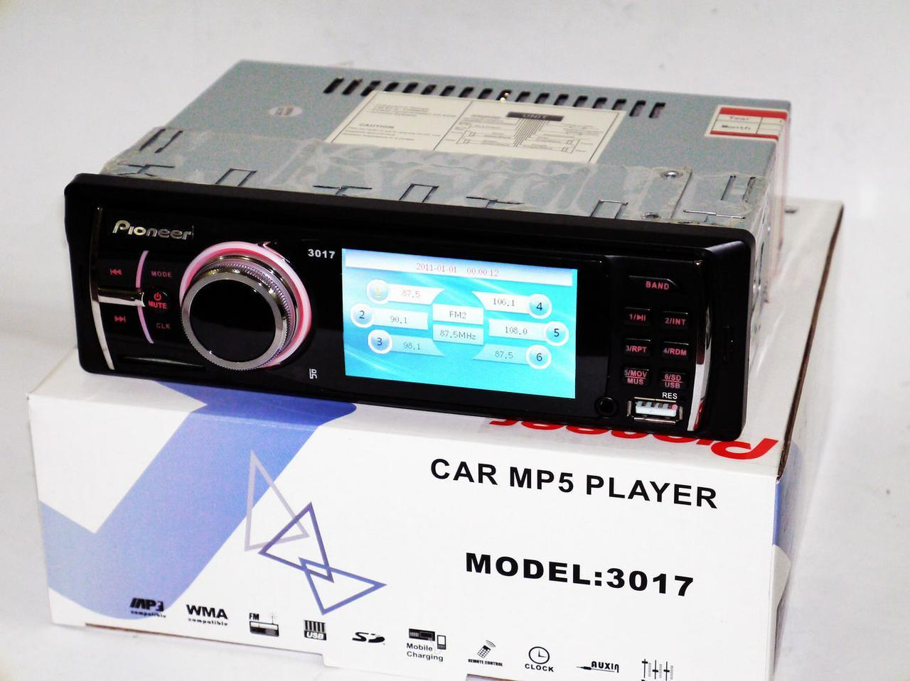 "Автомагнитола Pioneer 3017 - 3"" Video экран"