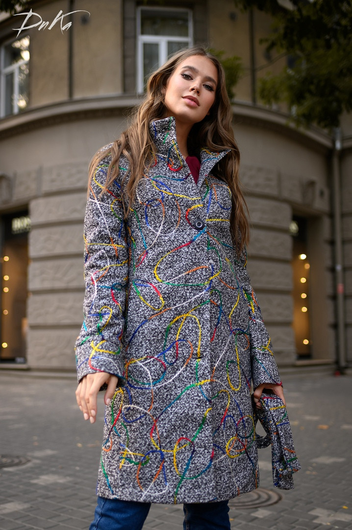 Женское теплое пальто  ДГс500