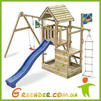 Спортивно игровые детские комплексы из дерева