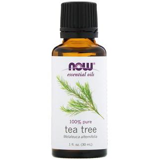 NOW Foods Эфирное масло Чайного дерева Tea Tree 100% pure, 30ml