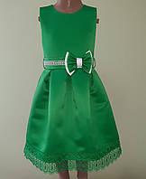 Святкова дитяча сукня «Зелена перлина»