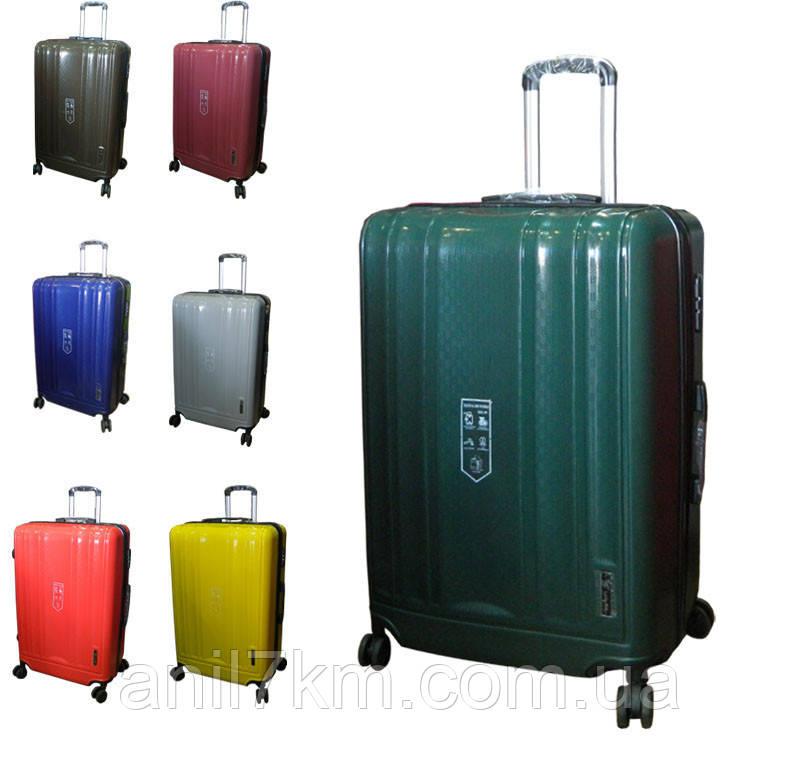 Середній валізу з поліпропілену на чотирьох колесах Lucky Bird