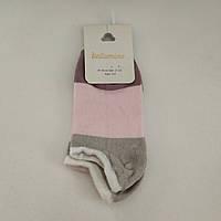 Детские хлопковые короткие носки для девочки, р. 3-4 года