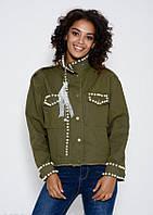 Куртки  6626  S хаки